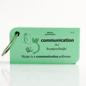 the-hoc-Flashcard-Effective-communication-ep-nhua-Xanh-11X trx